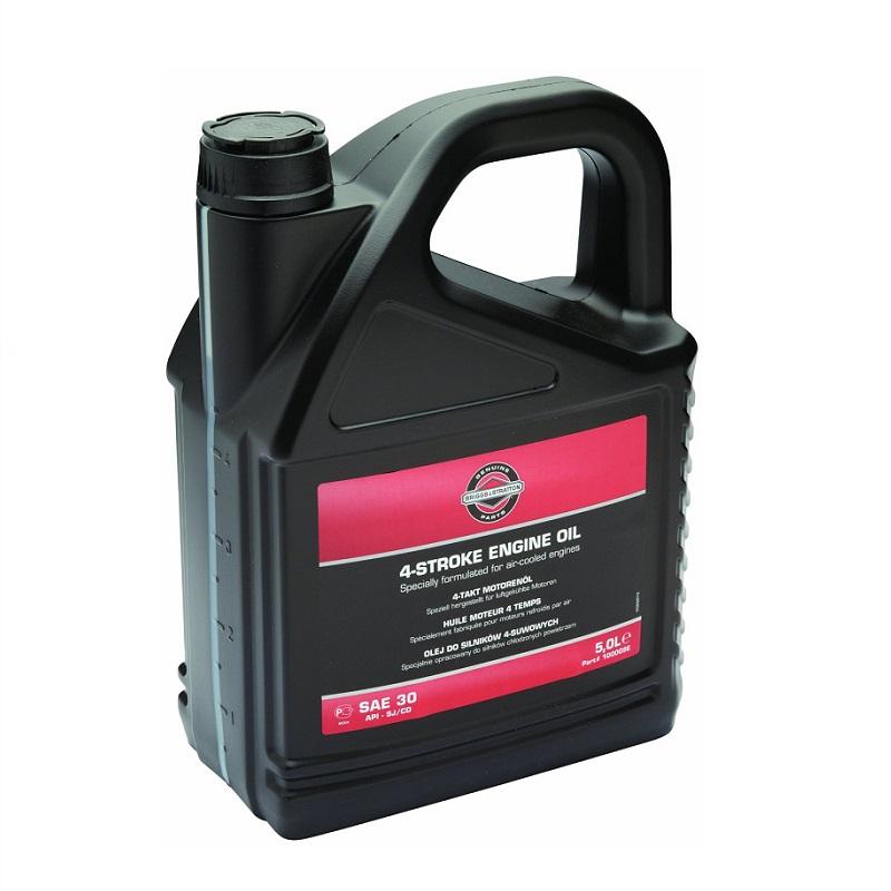 Olej motorový 4T SAE30 5,0l Briggs & Stratton