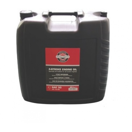 Olej motorový 4T SAE30 25L Briggs & Stratton