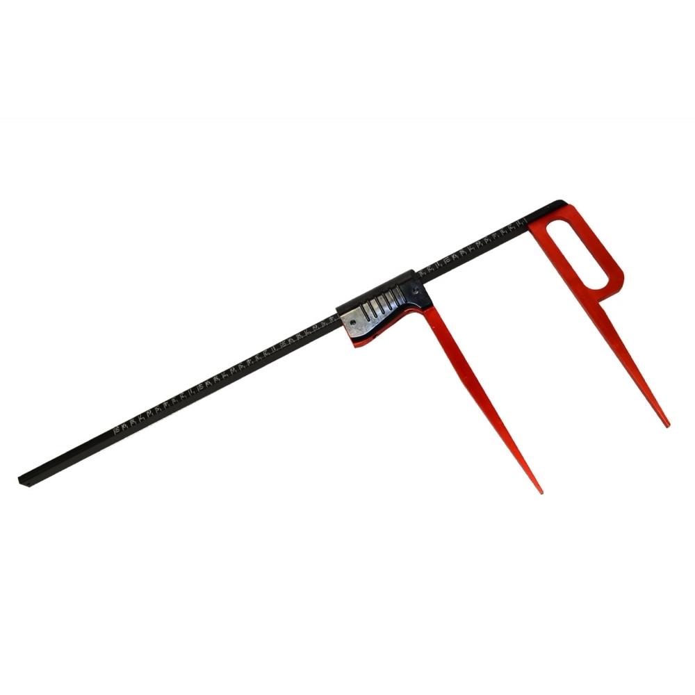 Průměrka ocelová 100cm Black Red Line Kinex  1277829 L-11