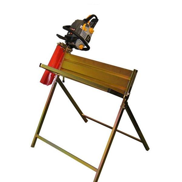 Stojan na řezání dřeva KRAMP s držákem