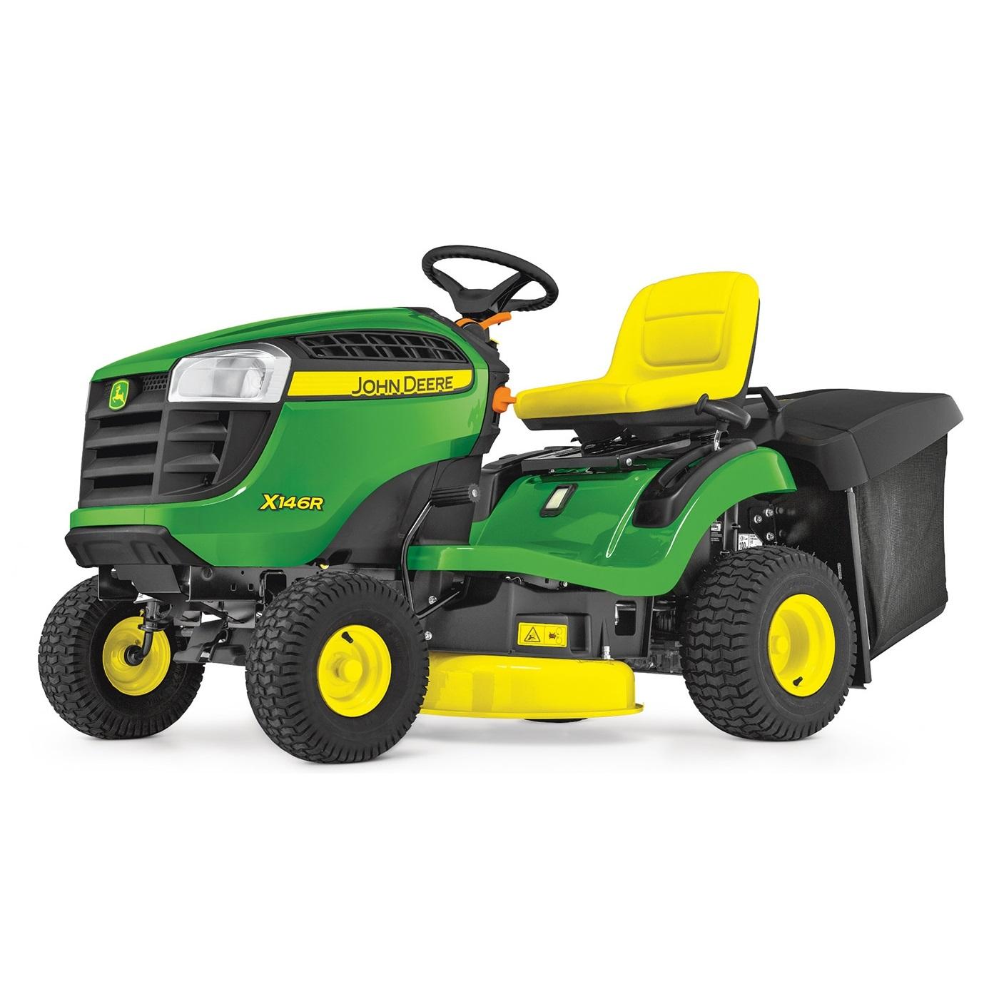 John Deere X146R - 92cm - 300l - traktor zahradní - N/A JOHN DEERE® BG21165 L-11