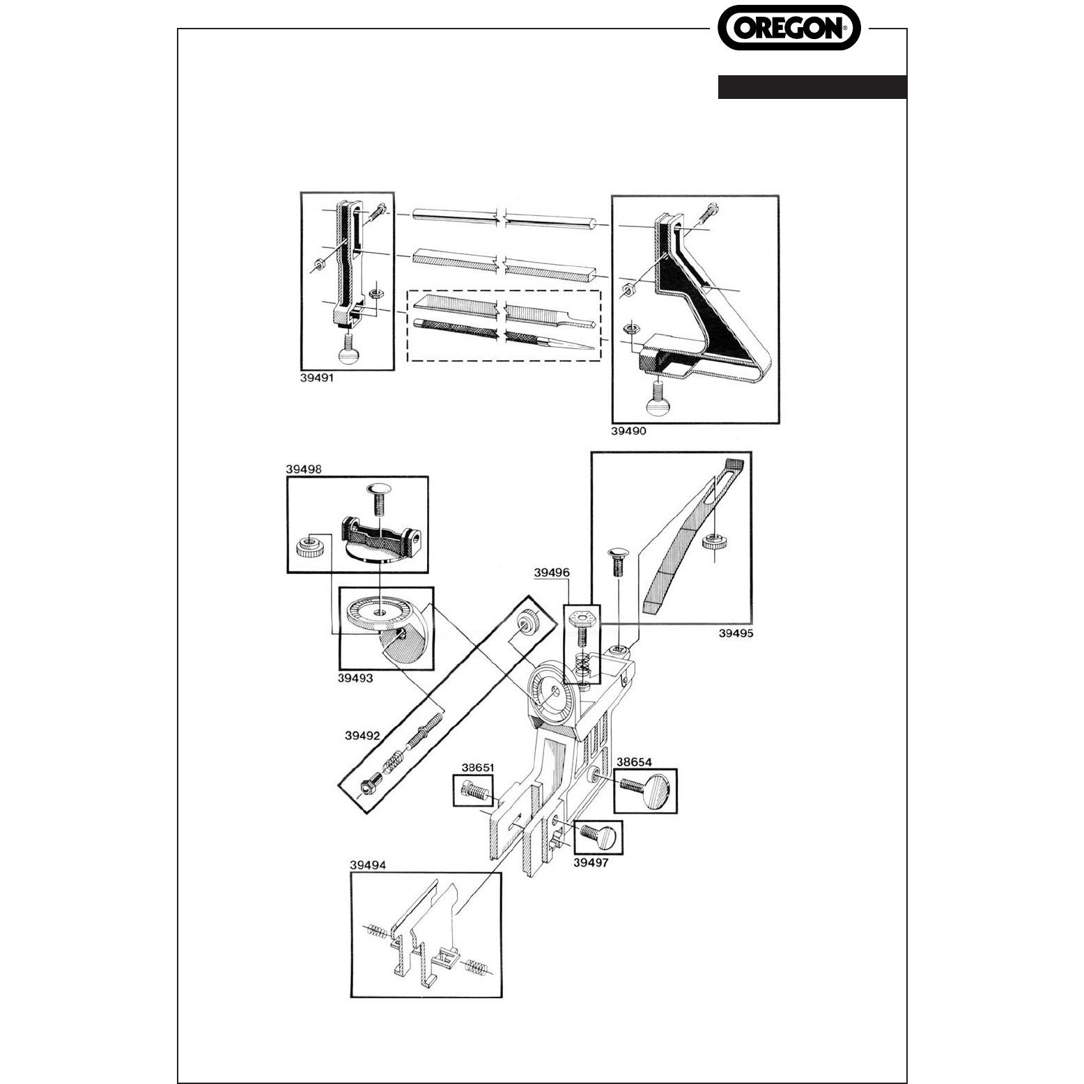 Přístroj na ostření řetězů Oregon OREGON® 557849 L-11