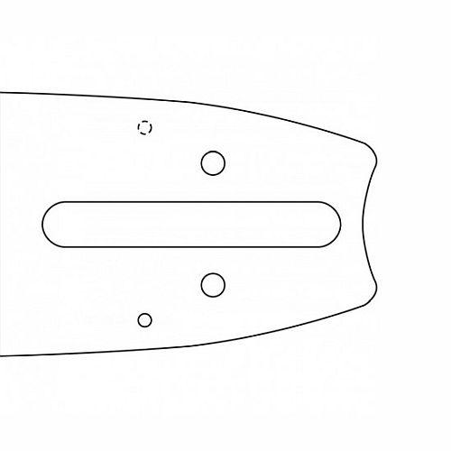 """Lišta vodící Oregon AdvanceCut  24"""" 60cm 3/8 1,6 pro Stihl OREGON® 243SFHD025 L-11"""