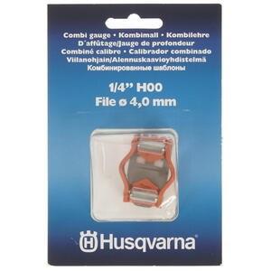"Vodítko kulatého pilníku 1/4"" H00 4,0mm mini Combi Husqvarna Husqvarna 5806874-01 L-11"