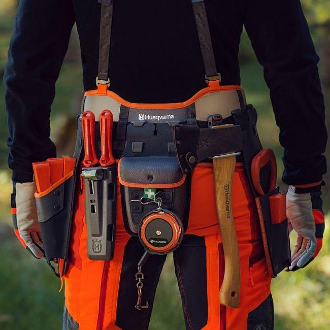 Opasek lesnický kompletní s pouzdry FLEXI KIT-2 sada klíny Husqvarna Husqvarna 5938372-02 L-11