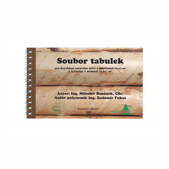 Soubor dřevorubeckých tabulek pro krychlení  65991 L-11
