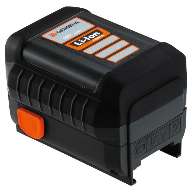 Akumulátor náhradní Gardena Li-lon 18V/2,6Ah GARDENA® 8835-00.701.00 L-11