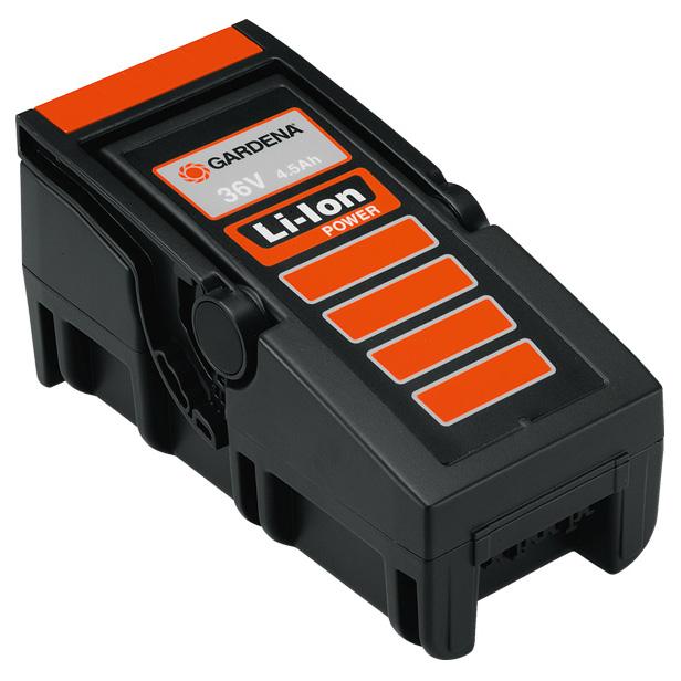 Akumulátor náhradní Li-lon 36V/4,5Ah Gardena GARDENA® 8837-20 L-11