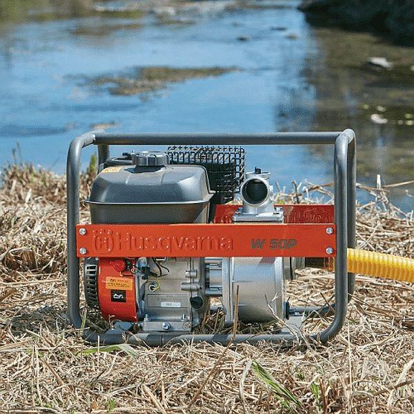 "Husqvarna W50P 2"" - benzínové čerpadlo na vodu Husqvarna 9676390-03 L-11"