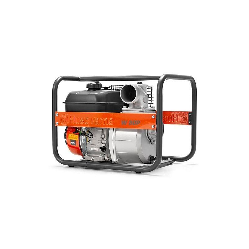 "Husqvarna W80P 3"" - benzínové čerpadlo na vodu Husqvarna 9676391-03 L-11"