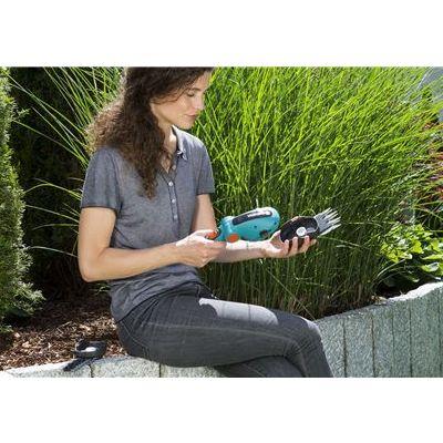 Nůžky na trávu Accu ComfortCut Gardena polohovatelné GARDENA® 9856-20 L-11