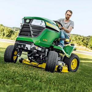 John Deere X354 + žú 42M - zahradní traktor 4WS JOHN DEERE® BM24756 L-11