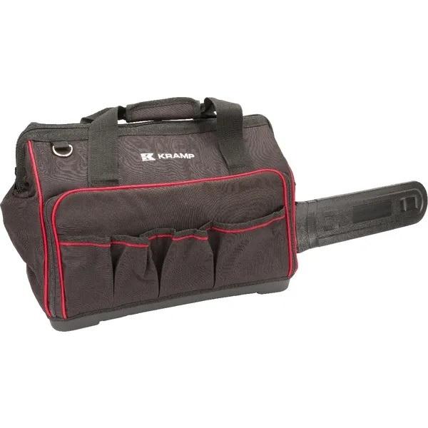Taška na řetezovou pilu s plastovou vanou černá KRAMP KRAMP CSB001KR L-11