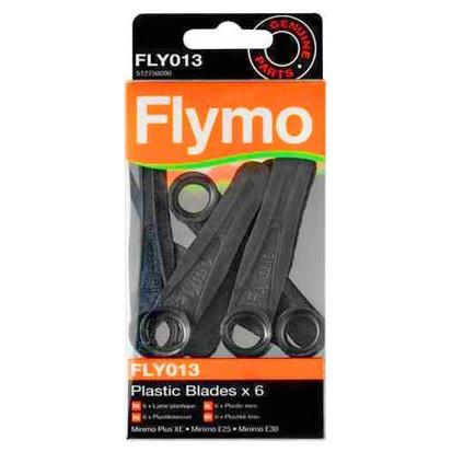 Nůž Minimo plast 6x Flymo - N/A FLYMO 5127500-90/7 L-11