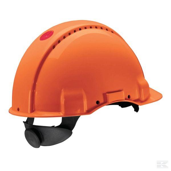Přilba skořepina Peltor G3000 oranžová st. s kolečkem