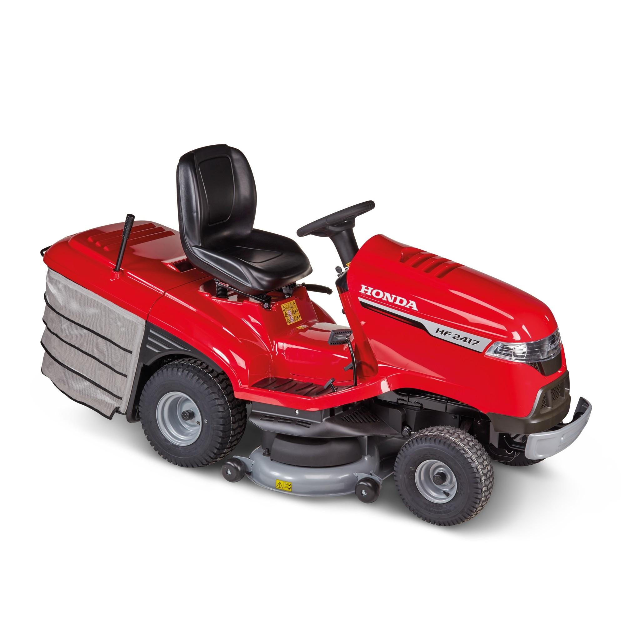 Honda  HF 2417 K5 HBE zahradní traktor s podpůrným ventilátorem pro lepší sběr Honda H718766 L-11