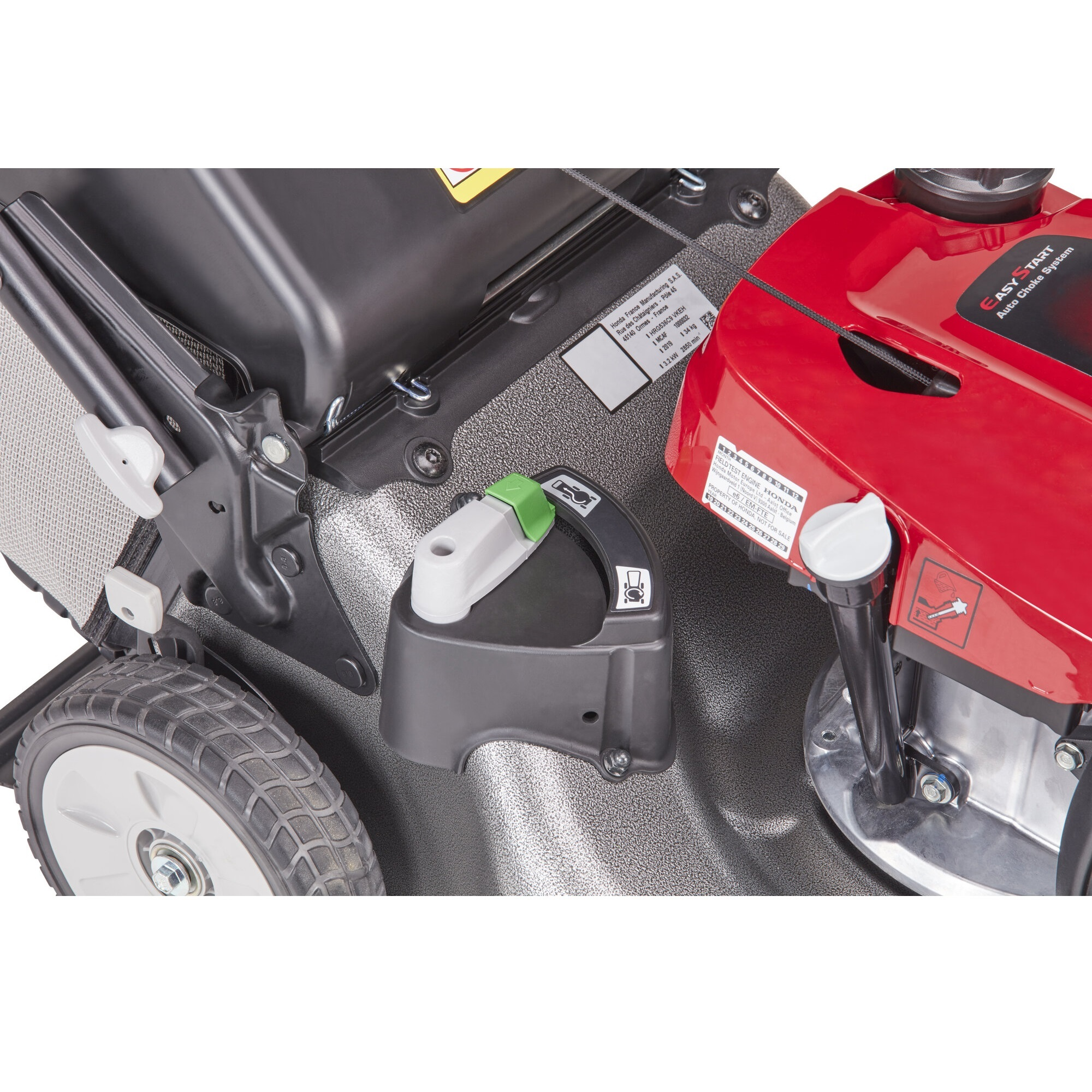 Honda HRG 536 C9 VYEH motorová sekačka s pojezdem, ROTOSTOP, dva sekací nože Honda H718779 L-11