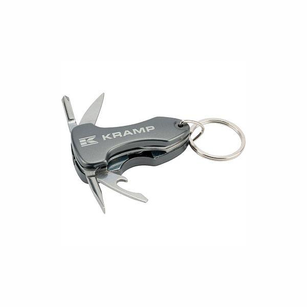 Přívěšek na klíče Kramp multifunkční kovový