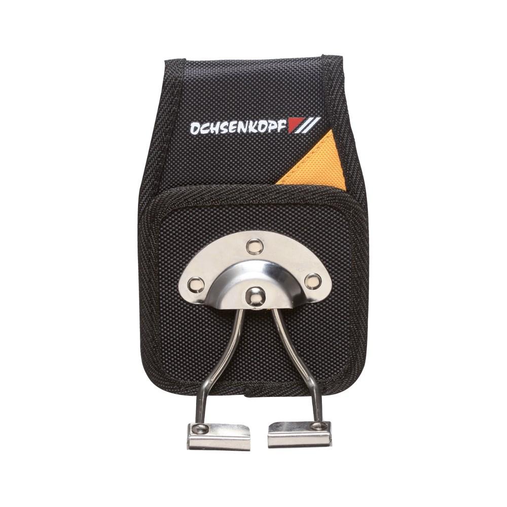Pouzdro držák na opasek Ochsenkopf pro hák na klády  OX126-0000 L-11