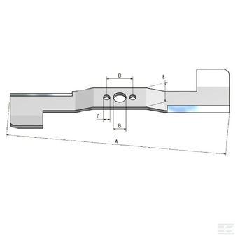 Nůž žací Stiga 45S Combi