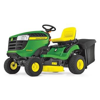 John Deere X146R - 92cm - 300l - traktor zahradní - N/A