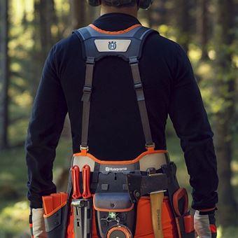 Opasek lesnický kompletní s pouzdry FLEXI KIT-2 sada klíny Husqvarna