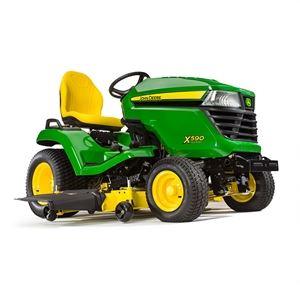 John Deere X590 EFI - parkový traktor zahradní