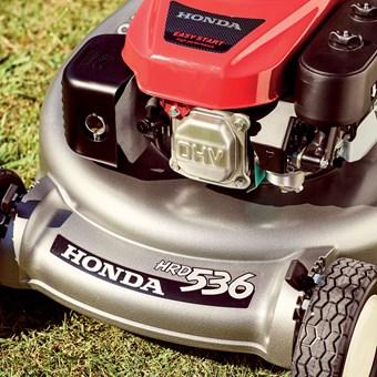 Honda HRD 536 K4 HXE profi motorová sekačka s pojezdem, HYDROSTAT, ROTOSTOP
