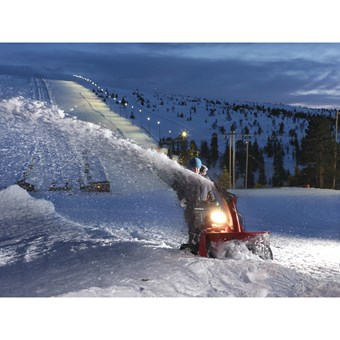Honda HSM 1390i ETDR hybridní sněhová pásová fréza